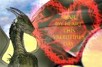 DHTSC Drago's Valentine card by Selinelle
