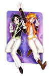 Prize: Magical Boys U v U by Cherryberrybonbon