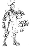 Iron Chef by OuthouseCartoons