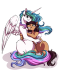:COMM: Princess Cuddles by LupiArts