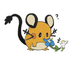 Dedenne and Flabebe