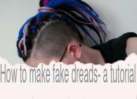 fake dreads- a tutorial by zlyoga