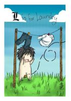 L is for LAUNDRY by Xue-Xue