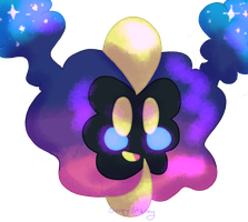It's Cosmog! by SleepyStaceyArt