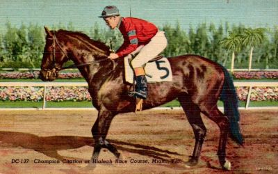 Vintage Miami - Citation at Hialeah Park by Yesterdays-Paper