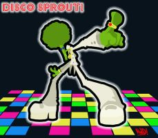 Disco Sprout by AndrewDickman
