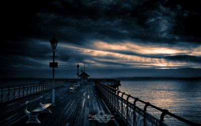 Dawn On The Deck by l8