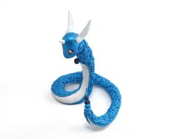 Dragonair Figurine by Ailinn-Lein