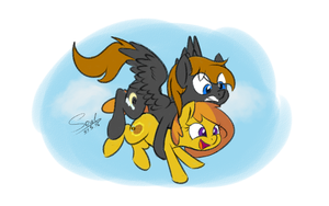 In The Air by SoulfulMirror