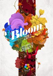 Bloom Arts Festival unofficial poster by 3tx