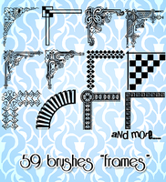 Frames Brushes by star-mari