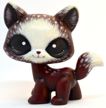 Red Riding Hood Walking Cat LPS Custom by TheLeyLine