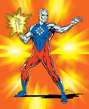 Captain Atom Redux II by fredmast