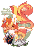 [Guest Auction!] Strawberry Lemonade [Closed] by manaberry