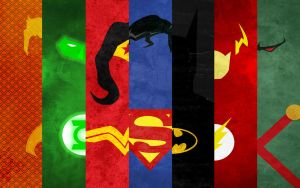 Wallpaper JusticeLeague by thelincdesign