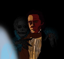 Crimson Peak Puppet by InvisibleCorpseGirl