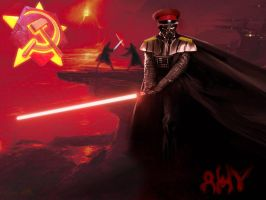 Red Alert: Darth Vader by dzhu