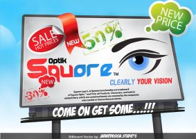Square Optic Opening Sale Advertisement by Fajar526
