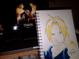 Edward FMA Brotherhood by EsBest