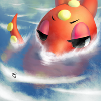 OCTILLERY GOES FOR A SWIM