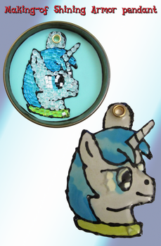 Making-of Shining Armor pendant by Malte279