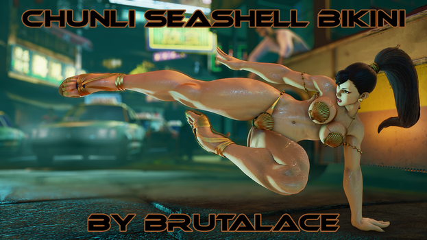 Chunli Seashell Bikini by BrutalAce