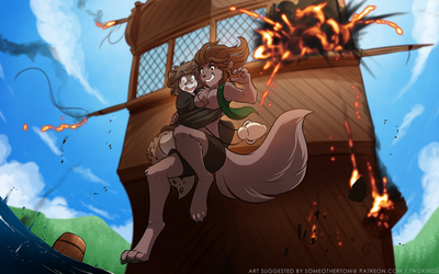 Jumping Ship by Twokinds