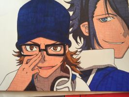 Day 6- Yata and Fushimi by Coley-sXe