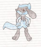 Riolu by Darkgatomon12