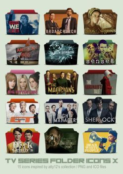 TV Series Folder Icons X by call-me-special