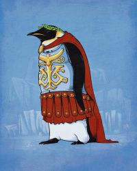 Penguin emperor by Naolito