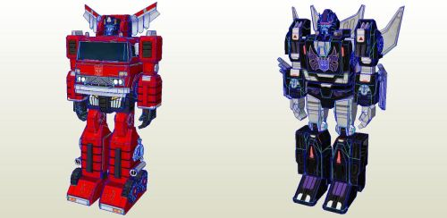 Transformers Earth Wars Pack 09 by PapercraftKing