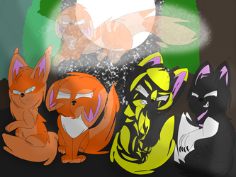 The Gathering. (Oc's) Remake by Blue-Flamee