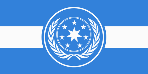 Flag of the Galactic Federation by Orca217