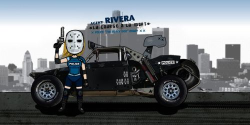 Agent Rivera / Police Buggy by Jeyjie