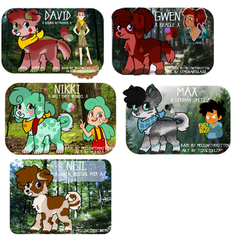 Camp Camp Point Adopts :Open: by mysterypaws