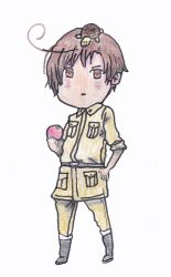 Chibi South Italy from Hetalia by outlire