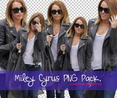 Miley Cyrus PNG Pack. by purplefreesia
