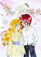 first date in spring by Tanbi-no-Kami