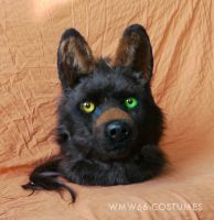 Motomo Wahots animatronic fursuit head 2 by WMW66-costumes