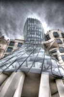 The Dancing House by EllieFragile
