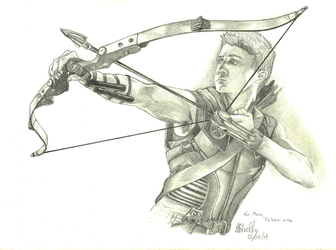 Hawkeye by lady-dragonstrike