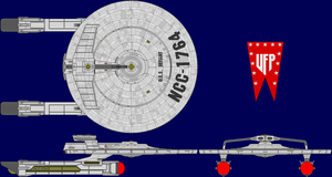 USS Defiant Multi-View by captshade