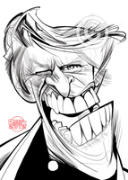 Gary Busey by RussCook
