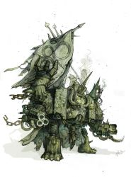 Chaos Dreadnought by Vanom
