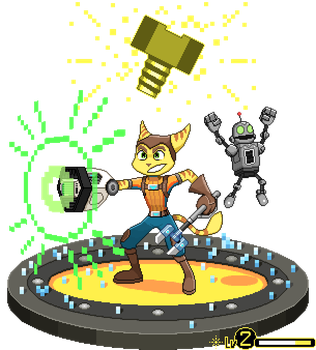 Ratchet And Clank Diorama by ScepterDPinoy