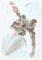 The Silver Surfer by ArtClem