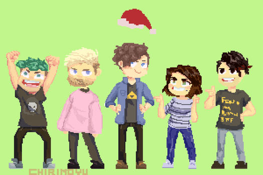 Cringemas gif re-draw! by chirimoyu