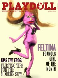 Playdoll - Cover Girl Feltina by Edheldil3D