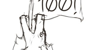 HERE YOU HAVE IT - 100 watchers by Bezrail